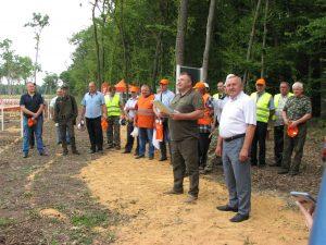 Хмільницький лісівник Валерій Цибульський – у п'ятірці найкращих вальників лісу Вінниччини