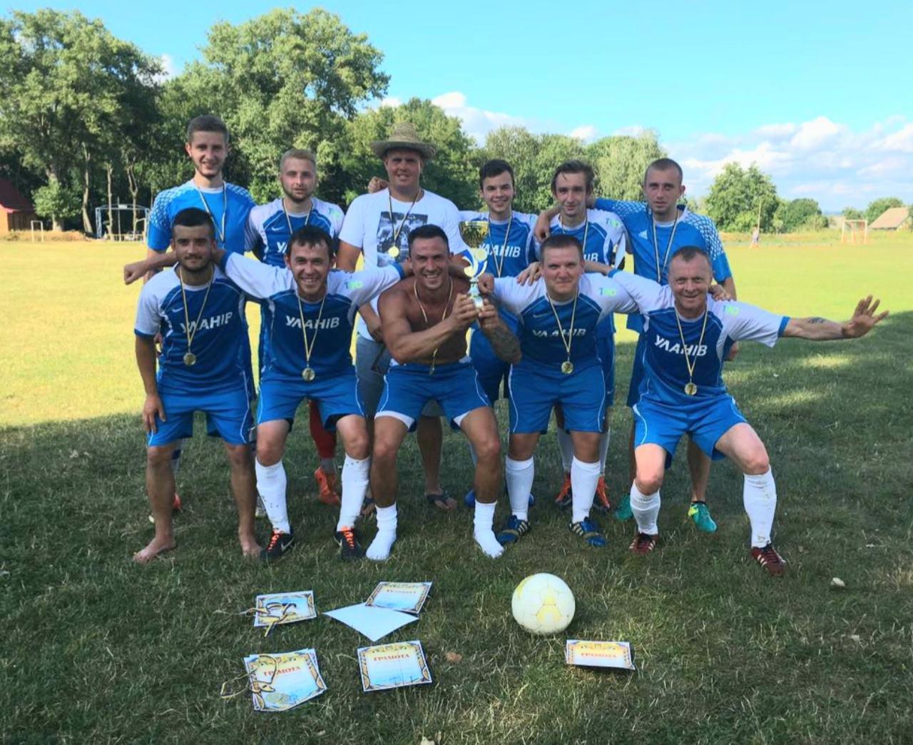 Гравці з Уланова вже вдруге перемогли у районній першості сільських команд з малого футболу