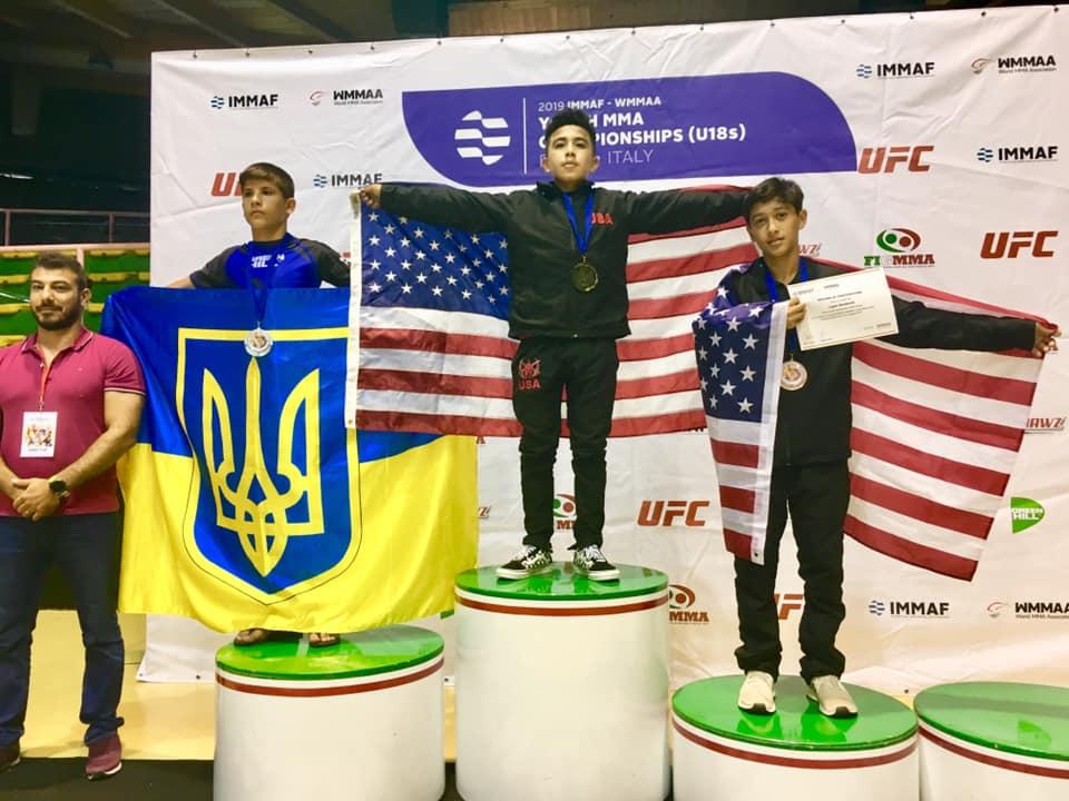 Хмільничани тріумфували на Чемпіонаті світу зі змішаних єдиноборств