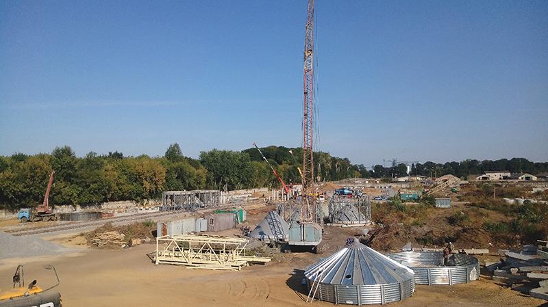 Триває будівництво хмільницького елеватору