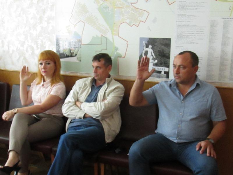 """Визначили переможців конкурсу """"Хмільник – наш дім""""."""