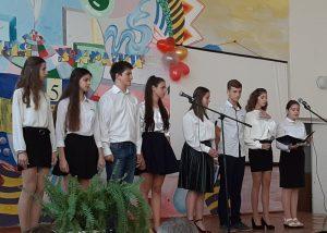 Школярі Хмільника провели виховний захід на честь 75-ї річниці визволення України від нацистських загарбників