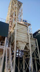 Вже збудовано новий елеватор у Хмільнику