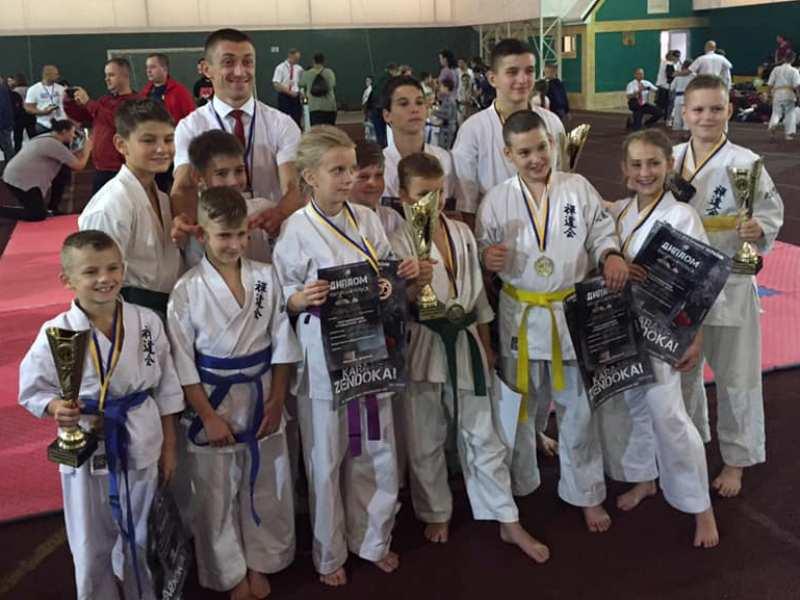 Хмільницькі юні каратисти успішно виступили на Кубку Південної України