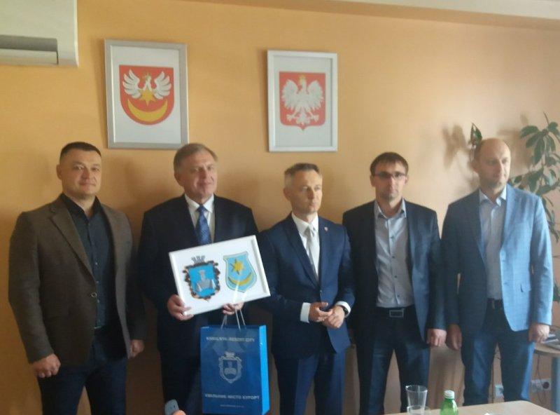 Делегація з Хмільника відвідала Тарновський повіт Республіки Польща