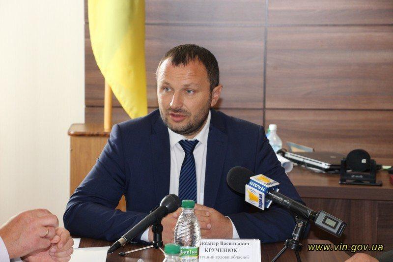 Наш земляк Олександр Крученюк вже не заступник губернатора Вінниччини?