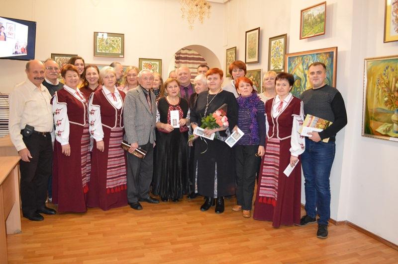 Виставку творчої родини хмільничан Громових презентували у Вінниці