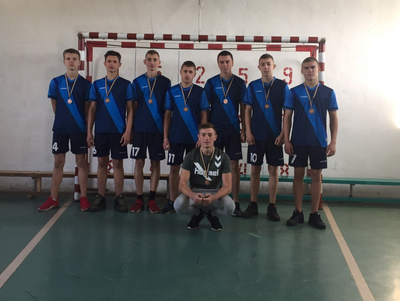 Юні гандболісти з Уланова вибороли бронзу на відкритому чемпіонаті Вінницької області