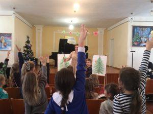 Як Святий Миколай вітав хмільницьких дітлахів