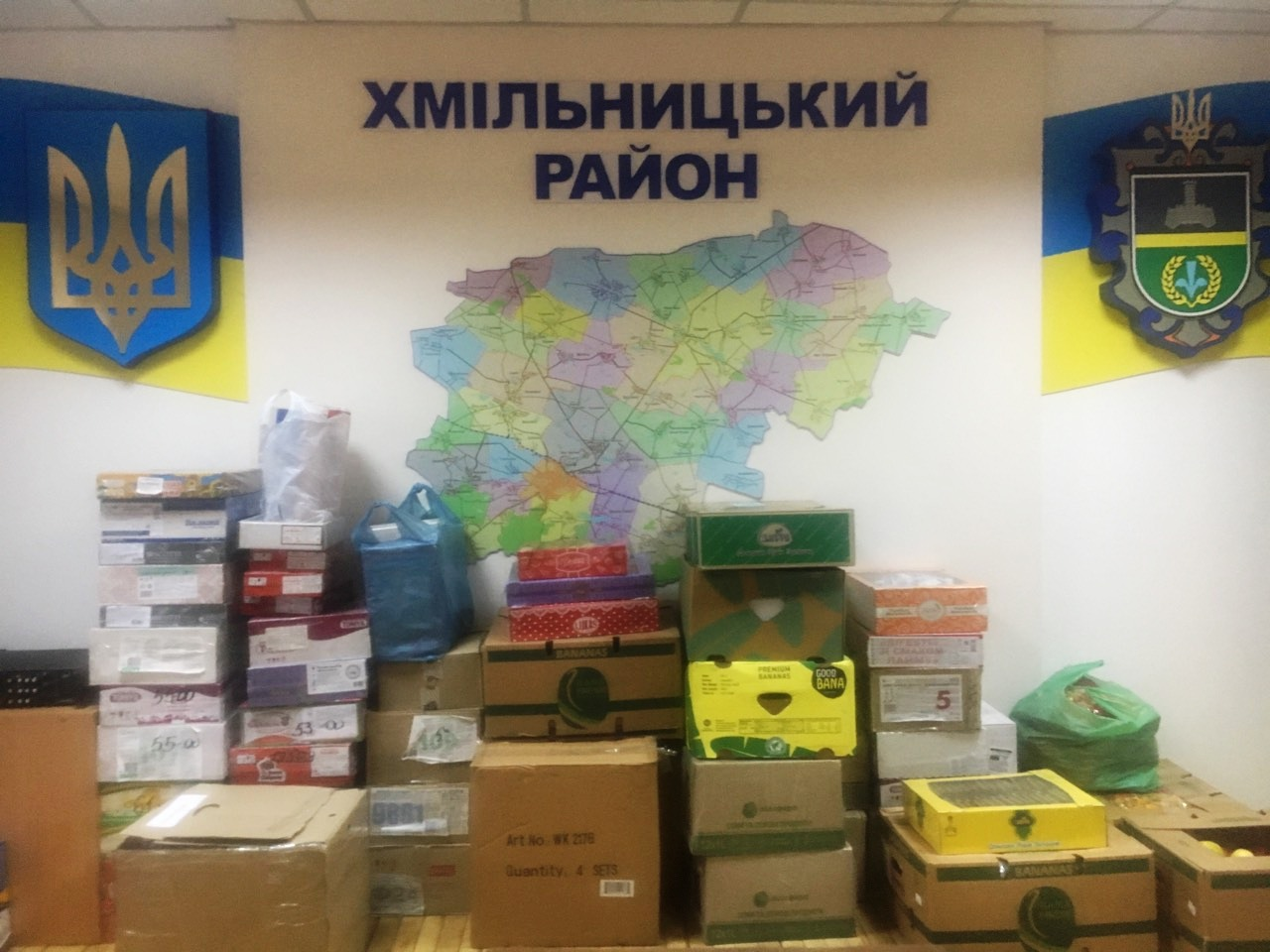 Понад 400 кг. гуманітарної допомоги українським військовим зібрали хмільничани