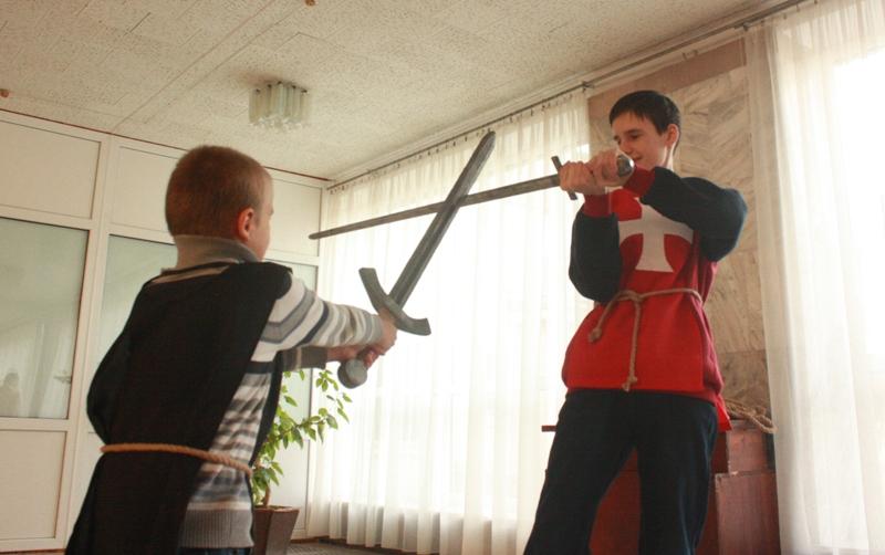Як хмільницькі дітлахи стали Лицарями Круглого Столу
