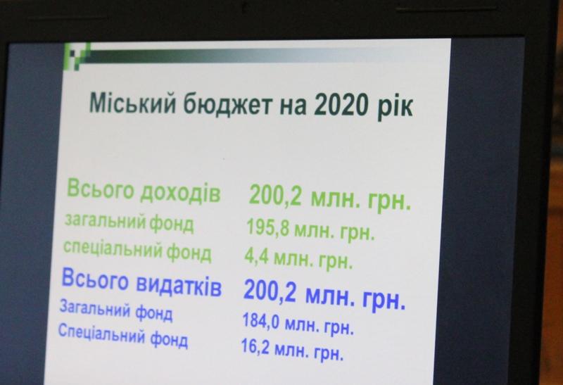Бюджет Хмільницької громади на наступний рік обговорювали під час громадських слухань