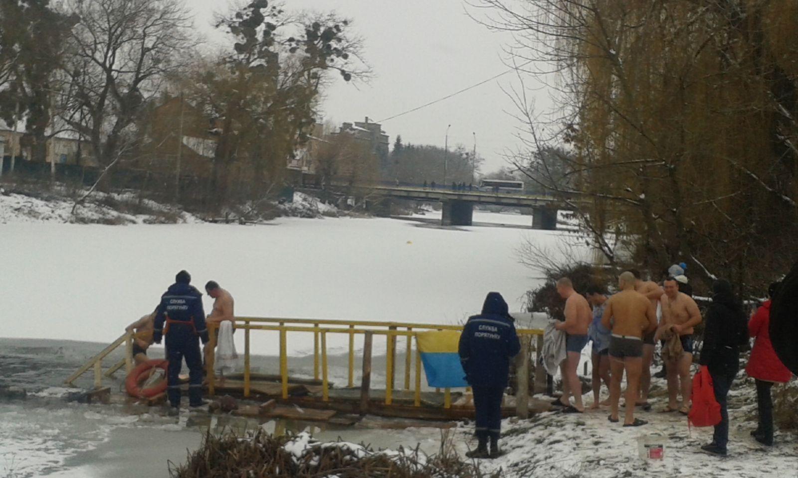 Де у Хмільнику та Хмільницькому районі святкуватимуть Водохреще?