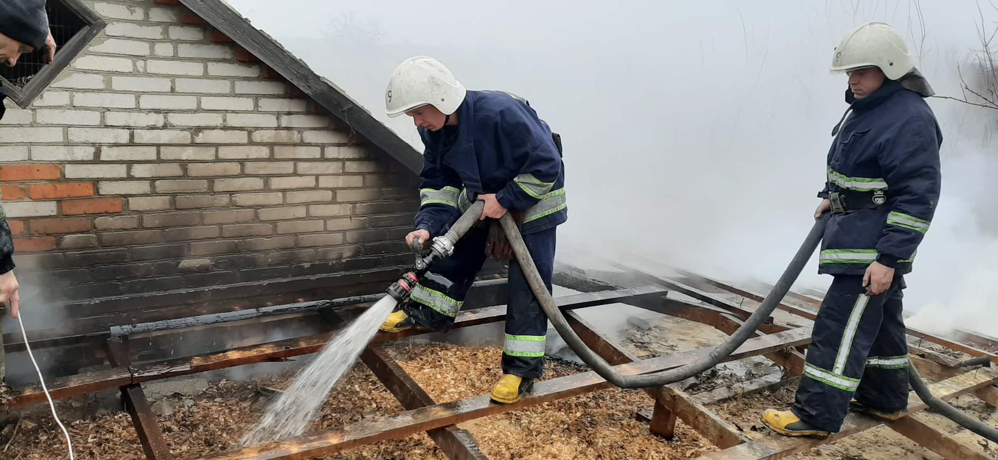 Сьогодні у Великому Митнику на пожежі загинув чоловік