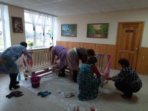 Поки діти на канікулах, працівники Качанівської школи створюють їм релакс-зону