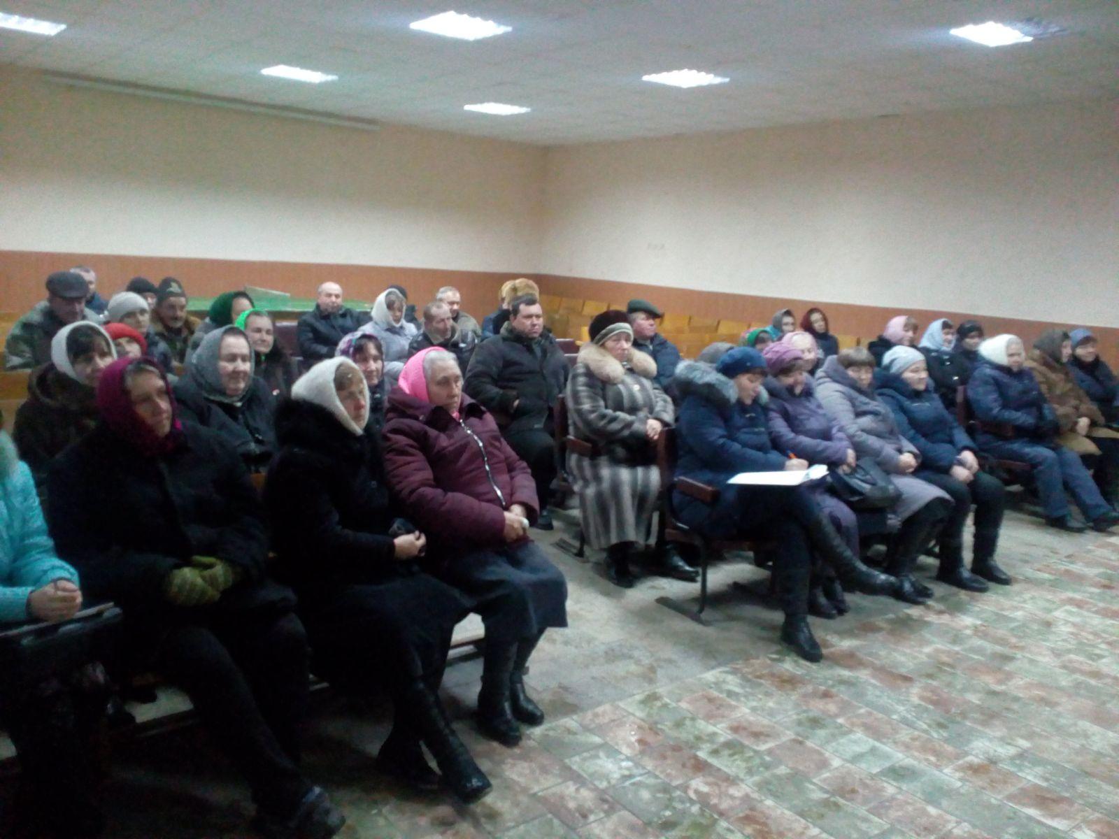У Морозівці відбулись збори громади