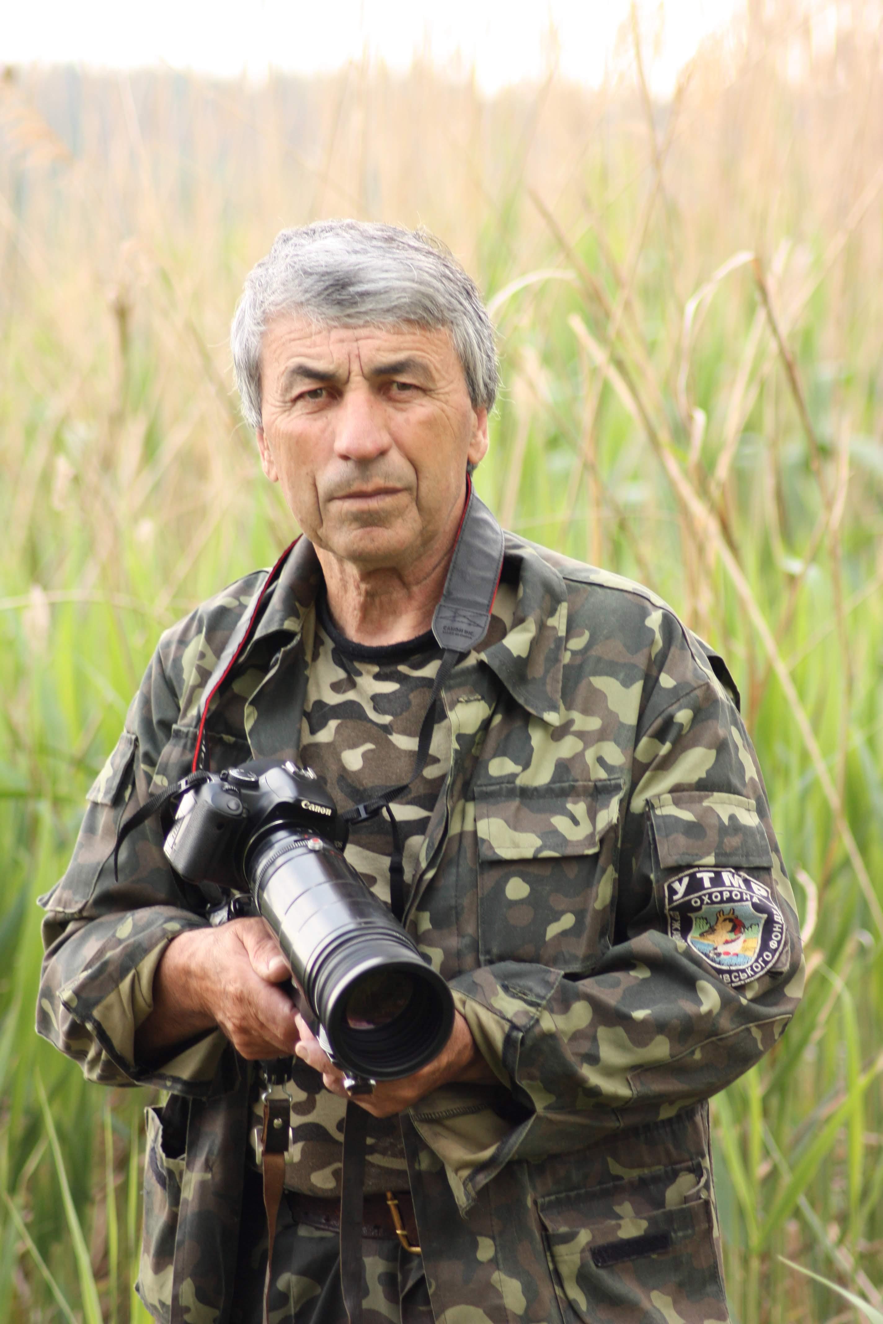 Наші славетні земляки. Мисливець, природоохоронець, фотограф та любитель природи Антон Кащеєв