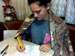 """Хмільницька школярка стала лауреаткою міжнародного конкурсу дитячого малюнка """"Марка дружби-2020"""""""