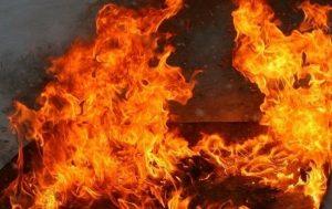 Сарай згорів сьогодні вночі у Хмільнику