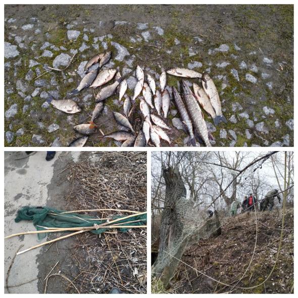 Рибних браконьєрів затримали у Хмільницькому районі