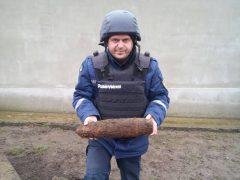 Снаряд часів Другої світової війни знайшли у Пагурцях