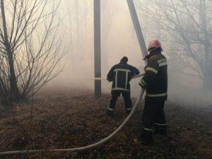 Хмільницькі рятувальники теж гаситимуть резонансну пожежу в зоні відчуження