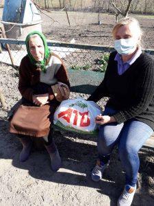 Як під час карантину у Хмільницькому районі допомагають самотнім, пенсіонерам, особам з інвалідністю