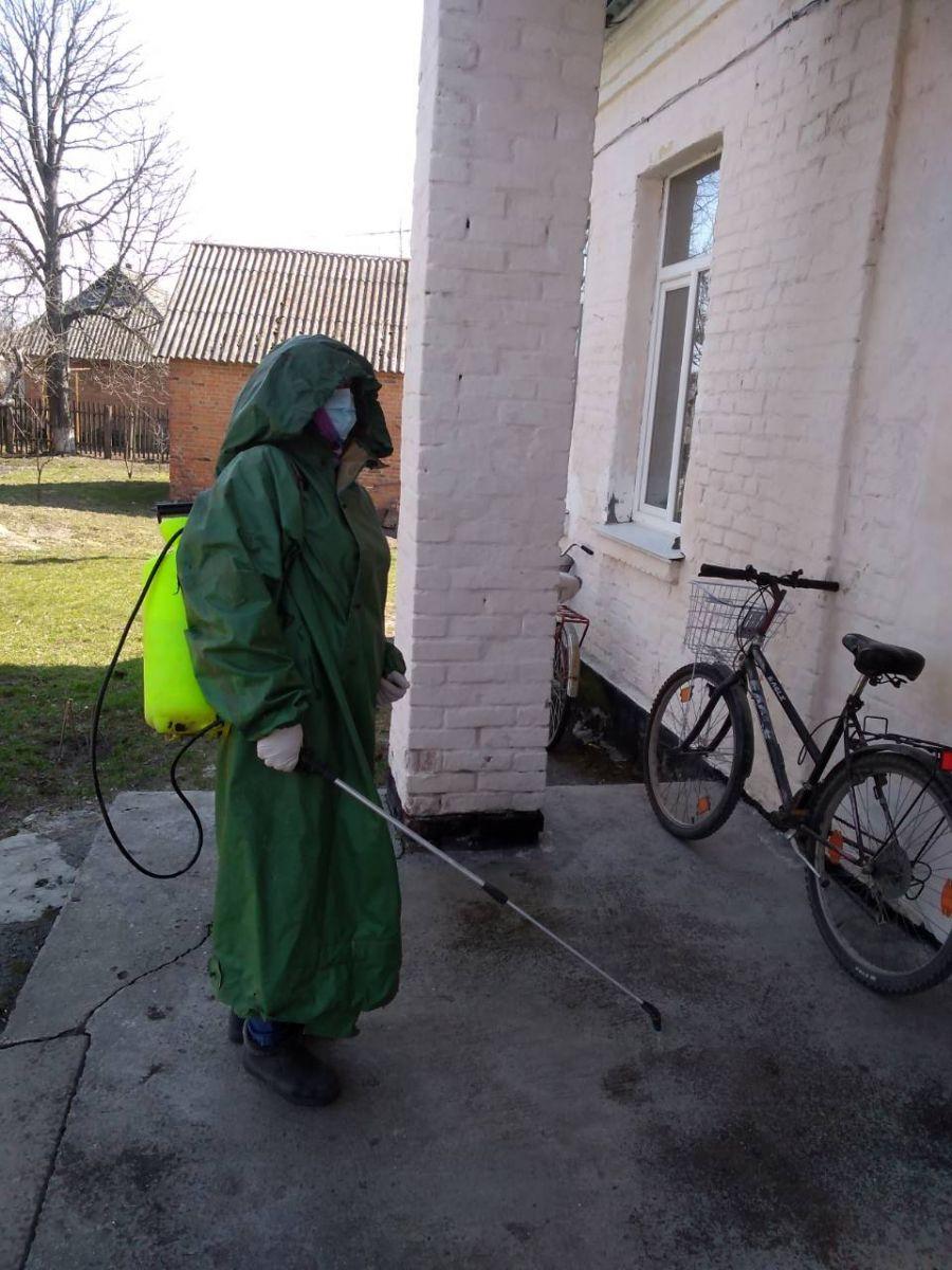 Як у Хмільницькому районі проводиться санітарна обробка населених пунктів