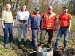 Небайдужі земляки «оживили» джерело у Дібрівці Жданівської ОТГ