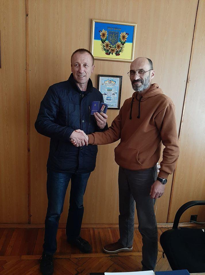 Почесну нагороду «За визволення Донбасу» отримав наш земляк Валентин Ковальський