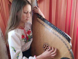 Онлайн-концерт на честь Кобзаря провели хмільницькі юні бандуристи