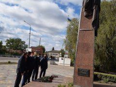 Тараса Шевченка вшанували у Хмільнику та Хмільницькому районі з нагоди 159-х роковин перепоховання Кобзаря в Україні
