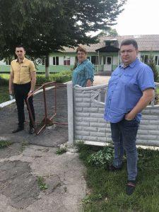Триває реконструкція навчально-виховного комплексу у Сьомаках