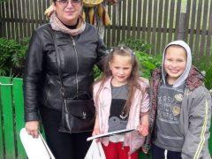 Привітали дітей з Хмільницького району – учасників челенджу #МАЮПРАВО