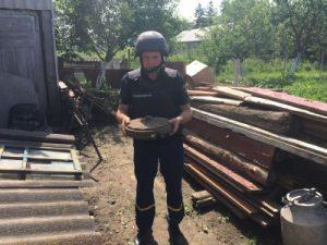 Протитанкову німецьку міну часів Другої світової війни знайшли у Куманівцях