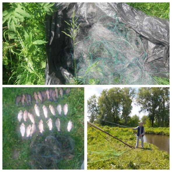 Ще двох рибних браконьєрів затримали у Хмільницькому районі