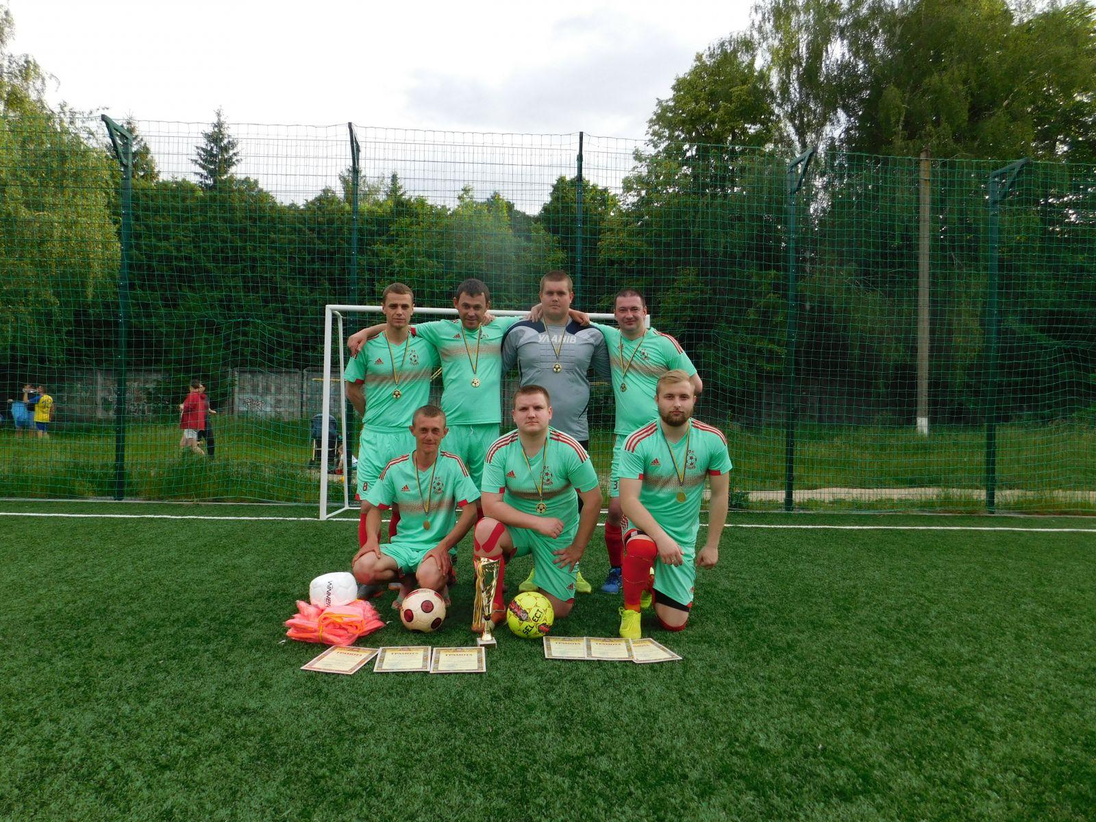 Уланівські футболісти стали переможцями районної першості