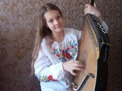 Хмільницькі юні бандуристки та їхні викладачі вибороли друге місце у черговому всеукраїнському онлайн-конкурсі