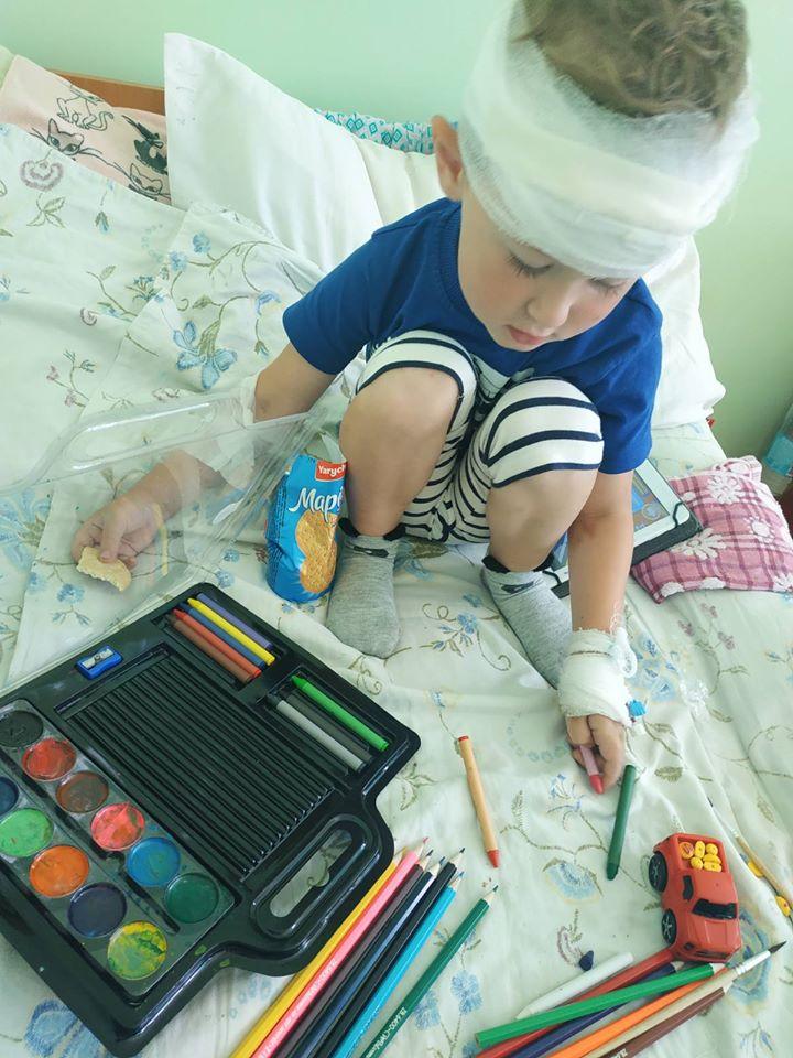 Радісні новини про маленького Олежика Мишківського