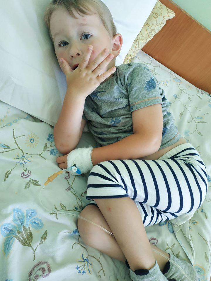 Допоможіть чотирирічному Олежці одужати!