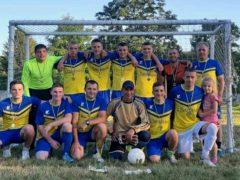 Футболісти з Вишеньки перемогли у цьогорічному Кубку Хмільницької сільської ліги з малого футболу