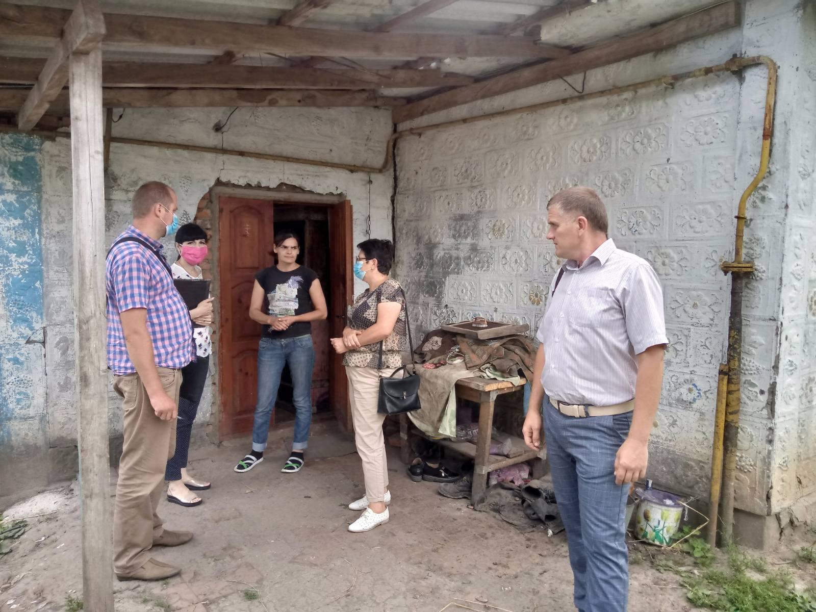 Родини Хмільницького району вчергове перевірили фахівці