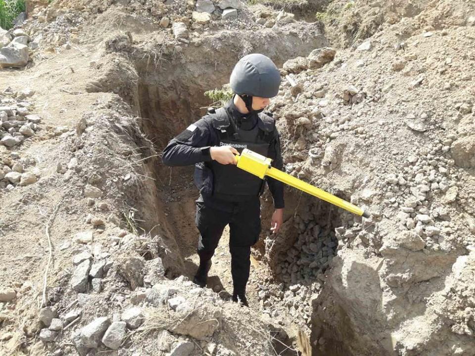 Мінометну міну часів Другої світової війни знайшли у Хмільнику