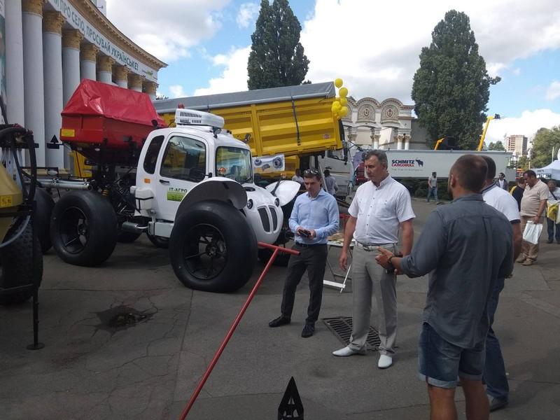 """Наші машинобудівники беруть участь у міжнародній виставці """"Агро-2020"""""""