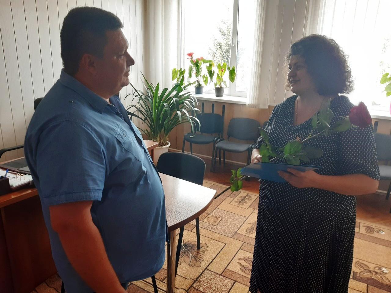 Підприємець Світлана Смоляна отримала нагороду з нагоди Дня Незалежності України