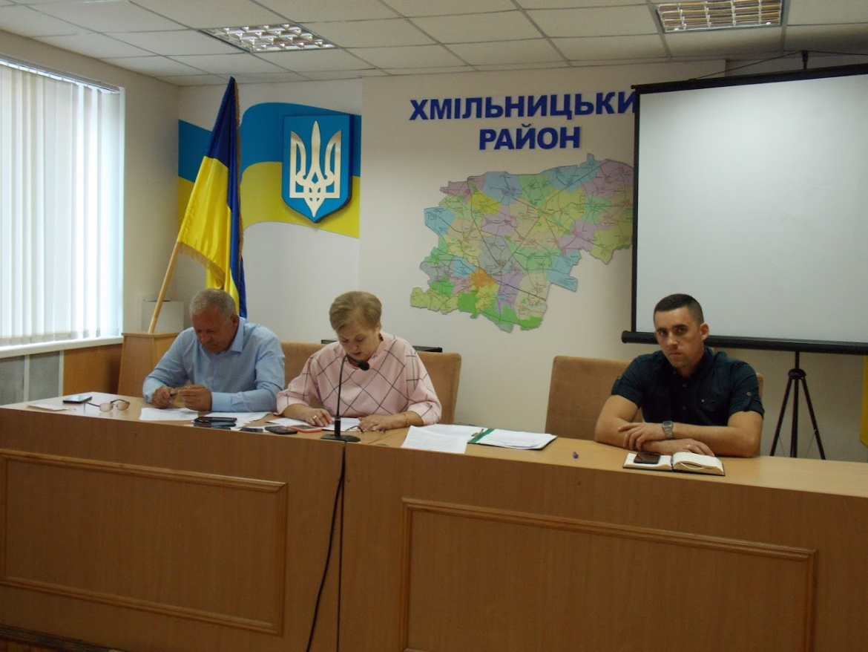 Сьогодні відбулось онлайн-засідання сесії Хмільницької районної ради