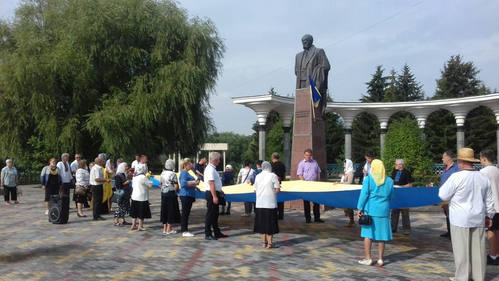Як хмільничани відсвяткували День Незалежності України