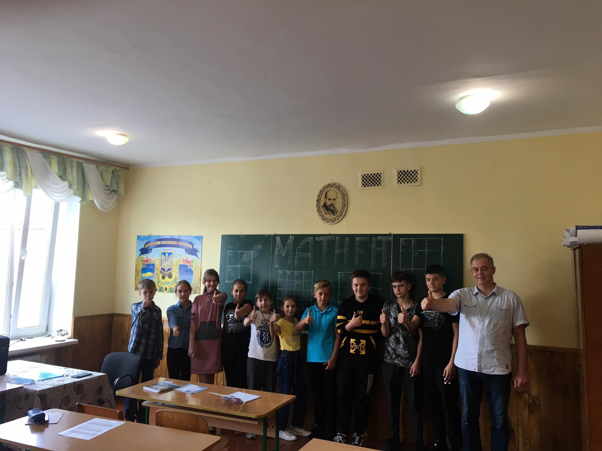 Єдиний в Хмільнику гурток з олімпіадної математики розпочав роботу