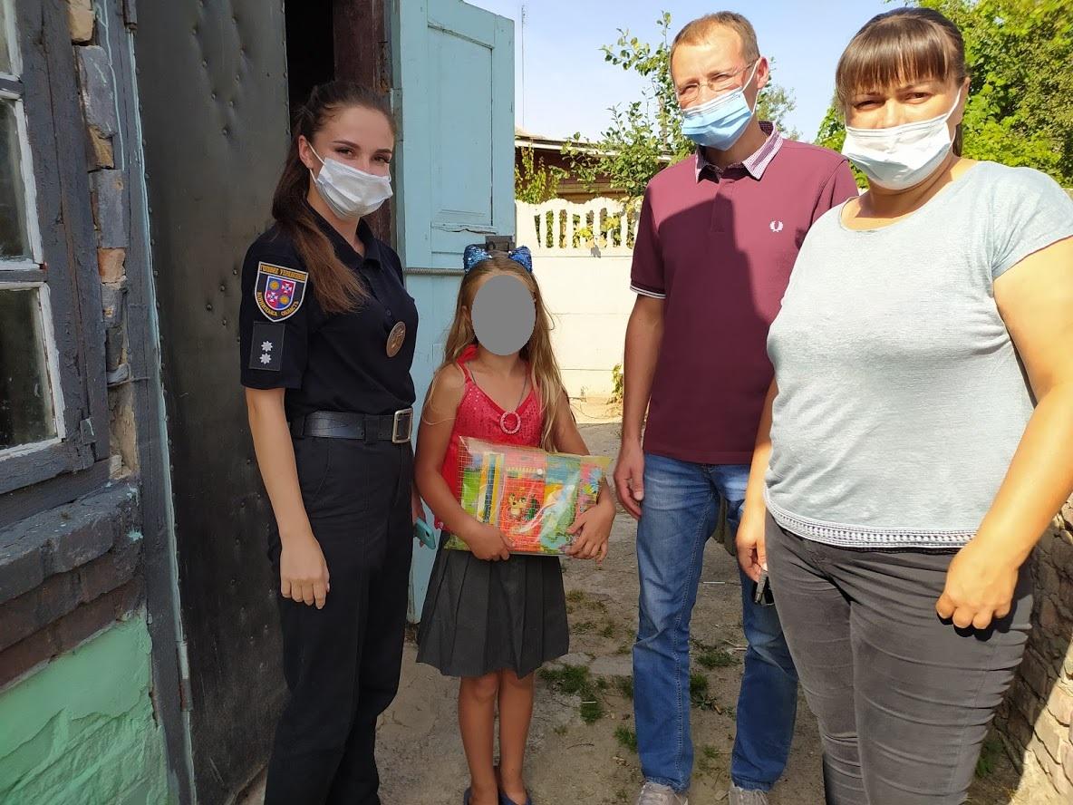 Профілактичний урок із дітьми провели хмільницькі поліцейські та працівники міськради