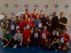 Срібна і бронзові нагороди у хмільницьких самбістів – результат першого дня Всеукраїнського турніру